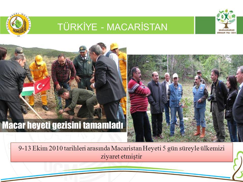 16/12/2010 Kurumsal Kimlik 2 TÜRKİYE - MACARİSTAN 9-13 Ekim 2010 tarihleri arasında Macaristan Heyeti 5 gün süreyle ülkemizi ziyaret etmiştir