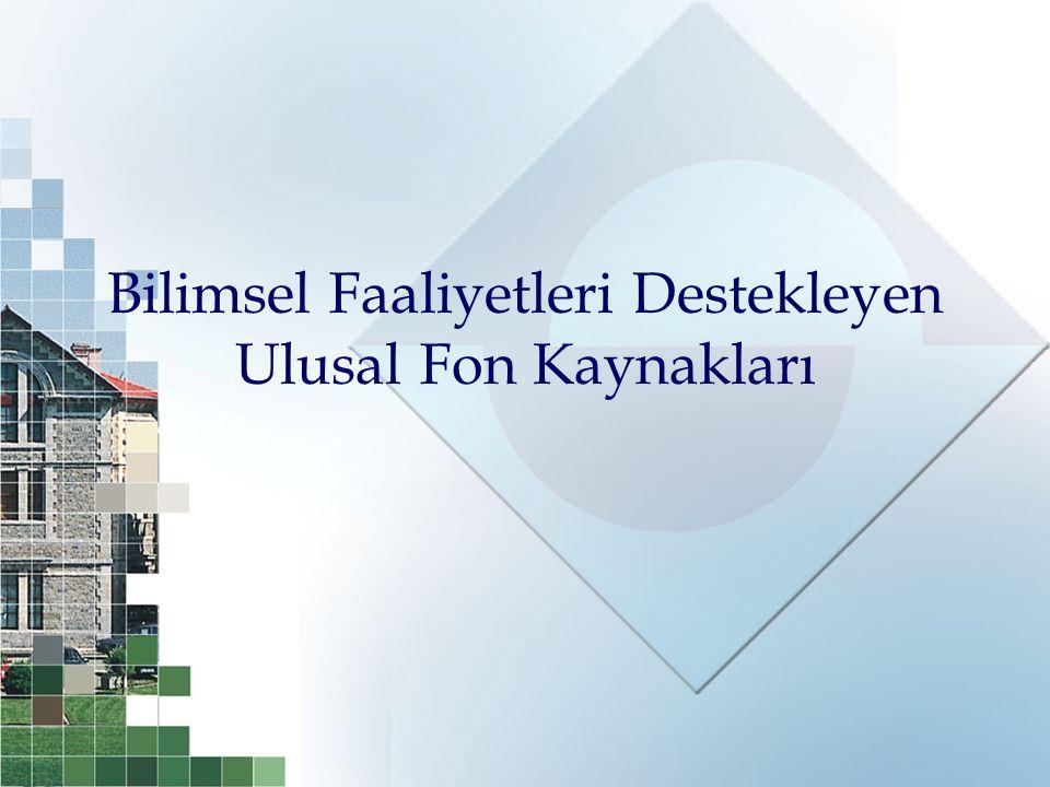2221 – Konuk Bilim İnsanı Destekleme Programı  Üniversitelerimiz, kamu veya özel sektör kurum ve kuruluşlarında –araştırmalara katılmak, –teknolojik yenilikler getirmek, –seminerler, konferanslar, dersler vermek üzere Türkiye'ye getirilmesi, davet edilmesi için destek verilir..