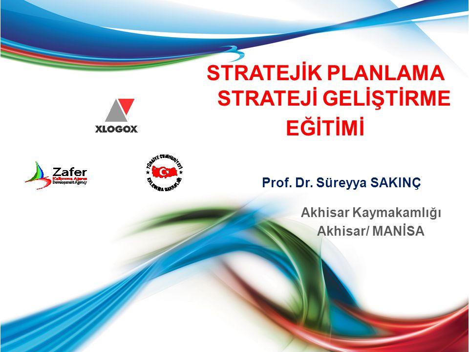 Faaliyet ve Projelerin Belirlenmesi Her bir Stratejik Amaç için Faaliyetler ve projeler belirlenerek yazılır.