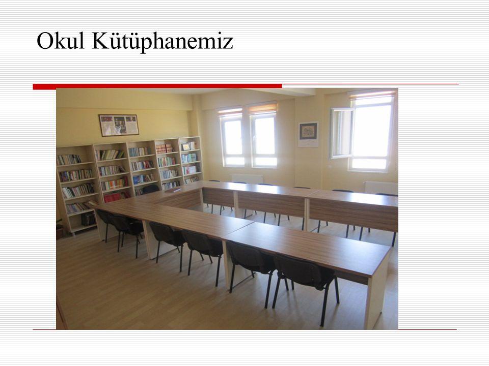 Okul Kütüphanemiz