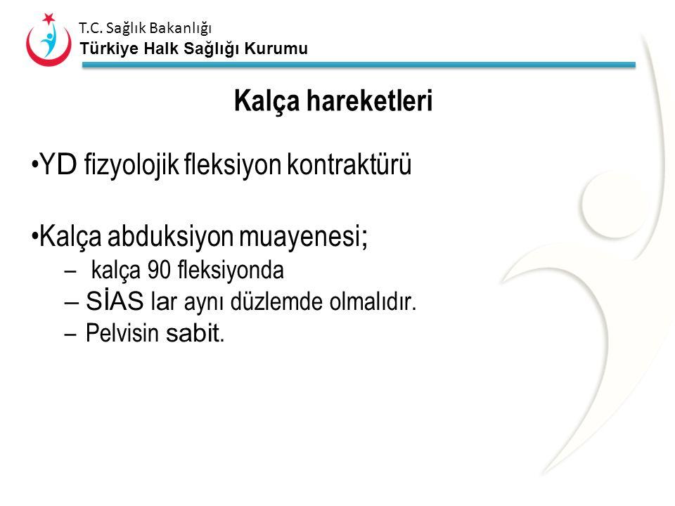 T.C. Sağlık Bakanlığı Türkiye Halk Sağlığı Kurumu Kalça Hareketleri