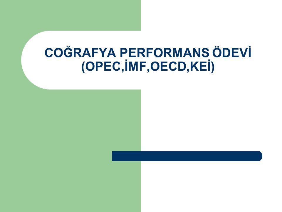 OPEC Petrol İhraç Eden Ülkeler Örgütü ya da kısaca OPEC net petrol ihraç eden ve bilinen dünya petrol rezervlerinin üçte ikisini ellerinde bulunduran 13 ülkenin oluşturduğu konfederasyondur.