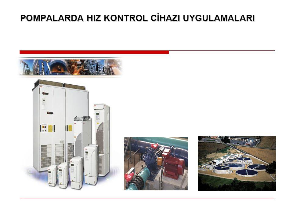 Seviye kontrol makrosu tankı doldurmak veya boşaltmak amacıyla 1-8 pompalı sistemleri destekler.