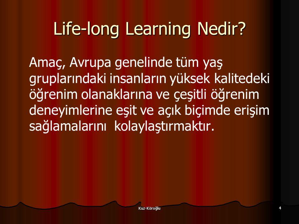 Kuz-Köroğlu 4 Life-long Learning Nedir.