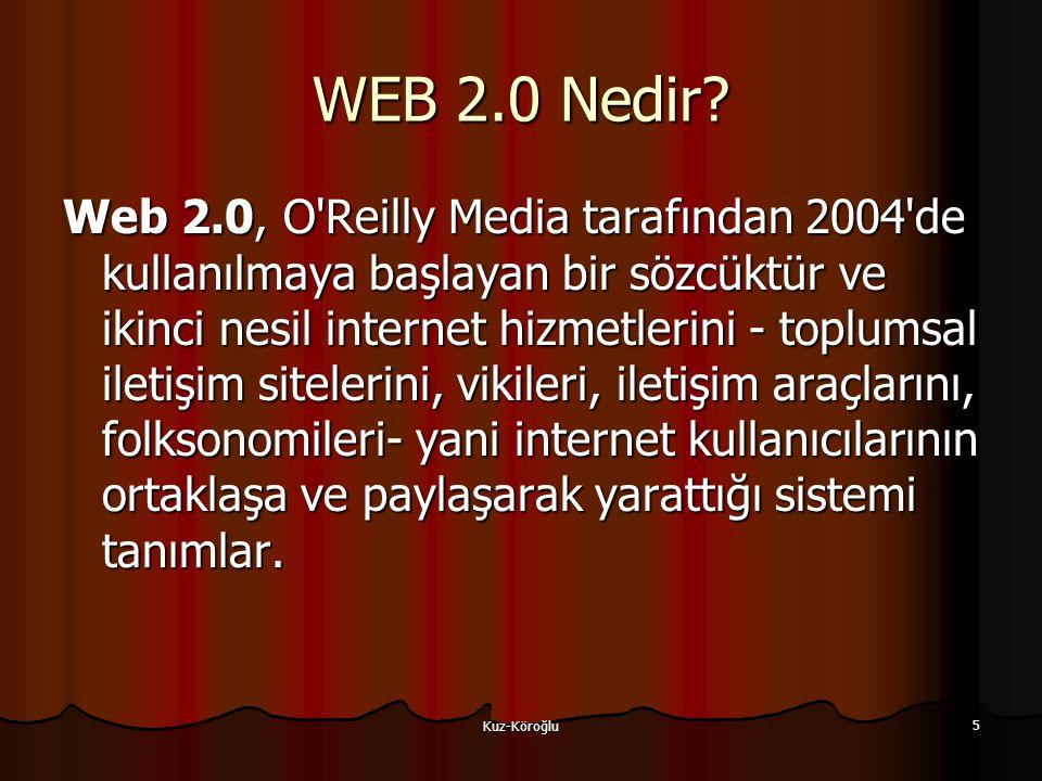 Kuz-Köroğlu 5 WEB 2.0 Nedir.