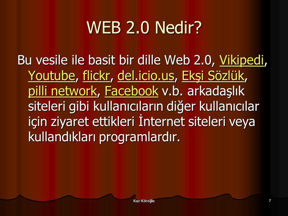 Kuz-Köroğlu 7 WEB 2.0 Nedir.