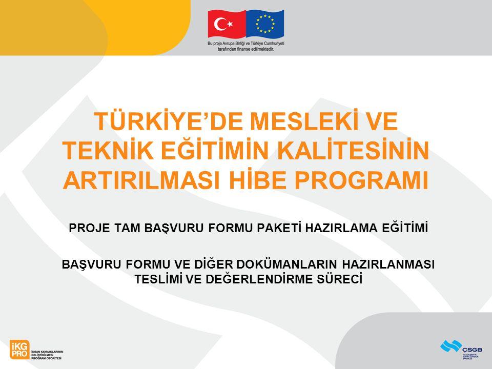 BAŞVURU İÇİN DOLDURULMASI GEREKEN DÖKÜMANLAR II.