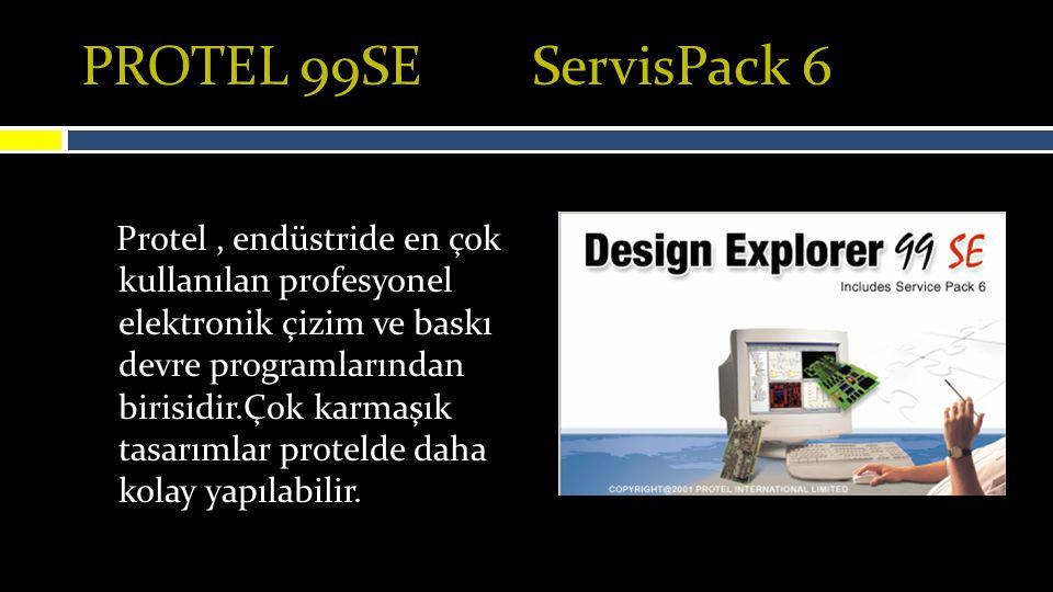 PROTEL – PCB – Şemadan PCBye Karşıma çıkan pencere Synchronization ve Warnings sekmeleri bulunmakta.