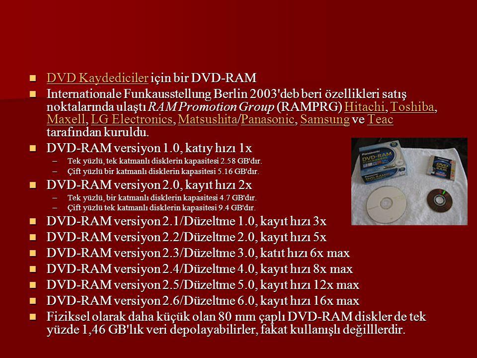 DVD Kaydediciler için bir DVD-RAM DVD Kaydediciler için bir DVD-RAM DVD Kaydediciler DVD Kaydediciler Internationale Funkausstellung Berlin 2003'deb b