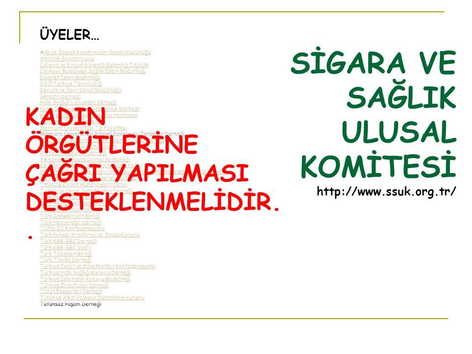 ÜYELER… Aile ve Sosyal Araştırmalar Genel Müdürlüğüile ve Sosyal Araştırmalar Genel Müdürlüğü Atatürk Sanatoryumu Çalışma ve Sosyal Güvenlik Bakanlığı