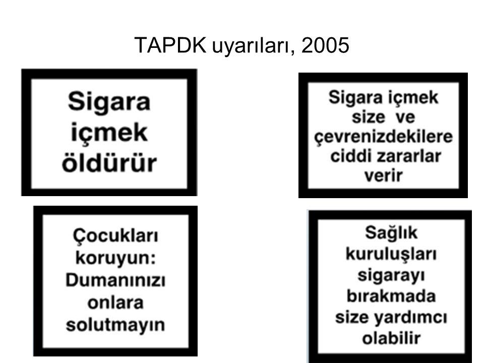 TAPDK uyarıları, 2005
