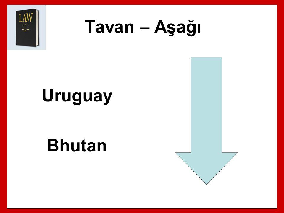 Tavan – Aşağı Uruguay Bhutan