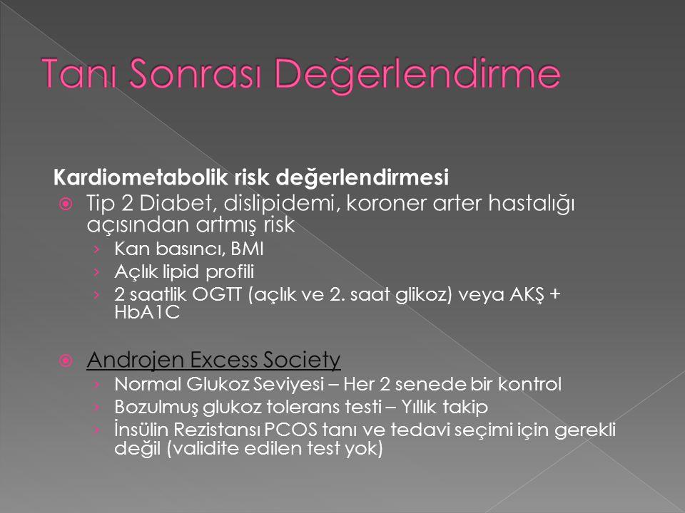 Kardiometabolik risk değerlendirmesi  Tip 2 Diabet, dislipidemi, koroner arter hastalığı açısından artmış risk › Kan basıncı, BMI › Açlık lipid profi
