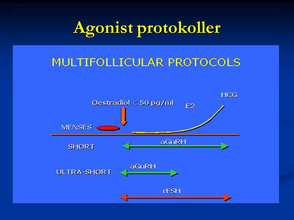 Agonist protokoller
