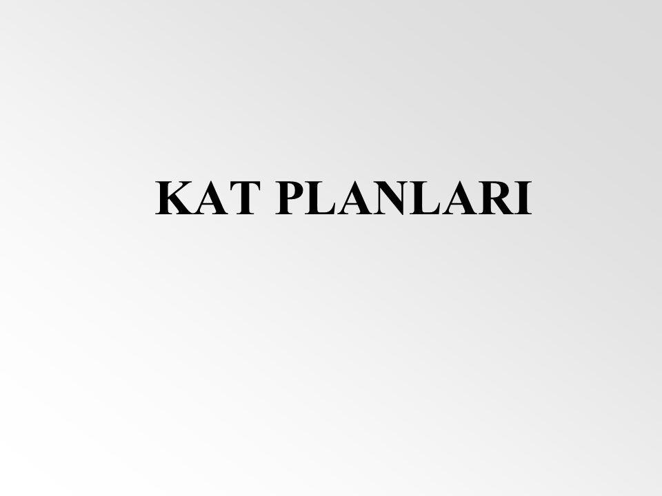 KAT PLANLARI