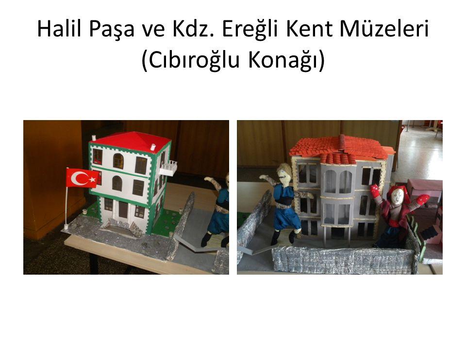 Halil Paşa ve Kdz. Ereğli Kent Müzeleri (Cıbıroğlu Konağı)