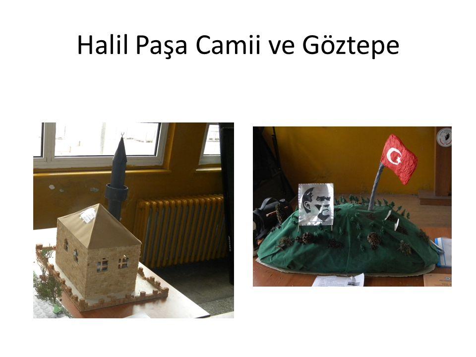 Halil Paşa Camii ve Göztepe