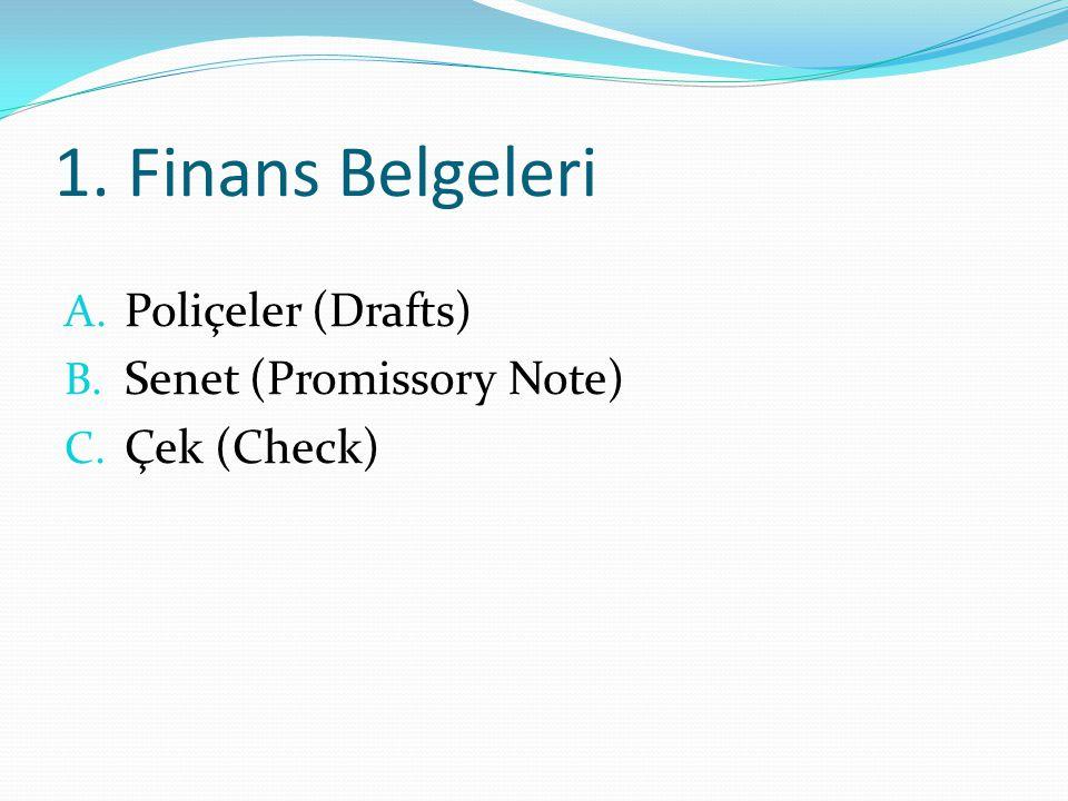 2.Ticari Belgeler (Commercial) A. Fatura (Invoice) i.