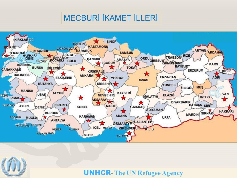 UNHCR - The UN Refugee Agency MECBURİ İKAMET İLLERİ