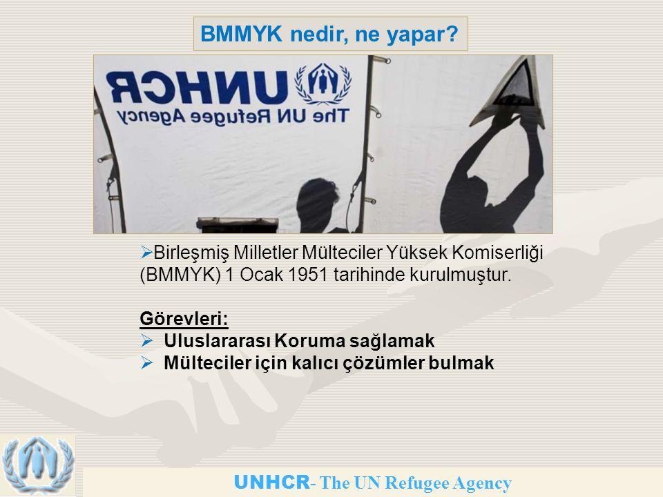 UNHCR - The UN Refugee Agency BMMYK nedir, ne yapar.