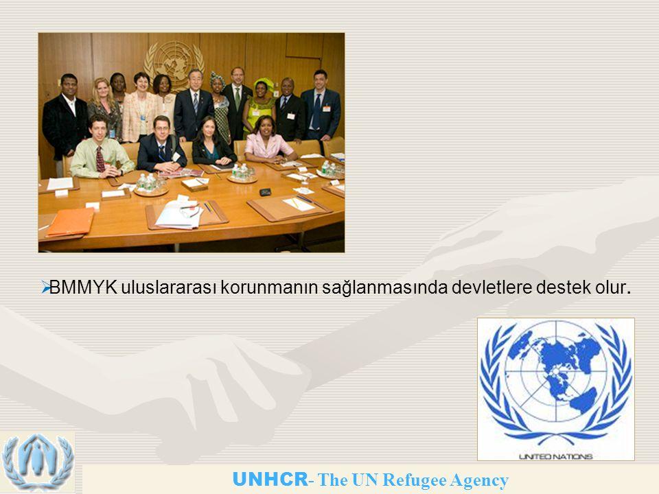 UNHCR - The UN Refugee Agency  BMMYK uluslararası korunmanın sağlanmasında devletlere destek olur.