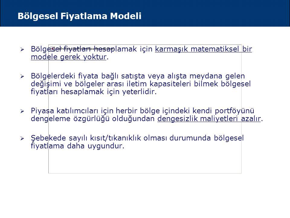 Noktasal Fiyatlama Modeli  Noktasal model, elektrik sisteminin çok iyi izahatı olarak geliştirilmiştir. Binlerce nokta üzerindeki yük akışını yöneteb