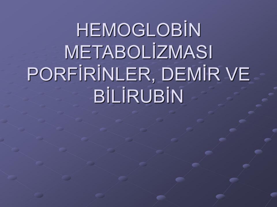Hemoglobin (Hb), oksijen taşıyan eritrositlerin (RBC) demir içeren pigmentidir.