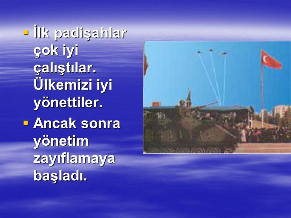 Türkiye'de cumhuriyet yönetiminden Türkiye'de cumhuriyet yönetiminden önce padişahlık yönetimi vardı.