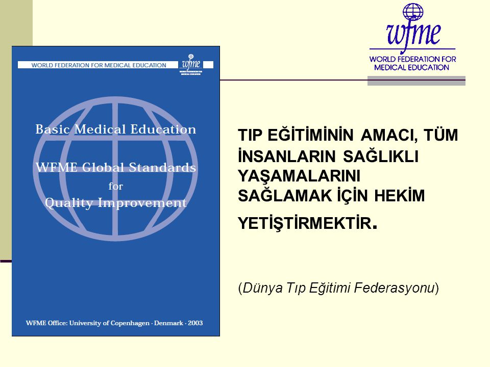 Tıp Fak. Eğitim Modelleri