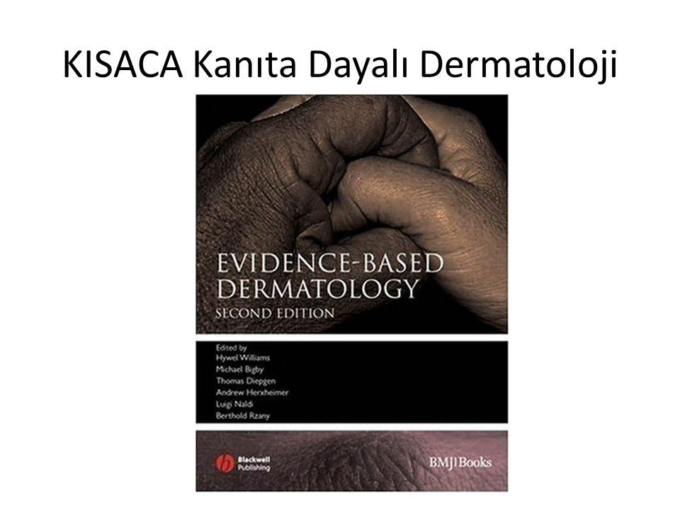 KISACA Kanıta Dayalı Dermatoloji