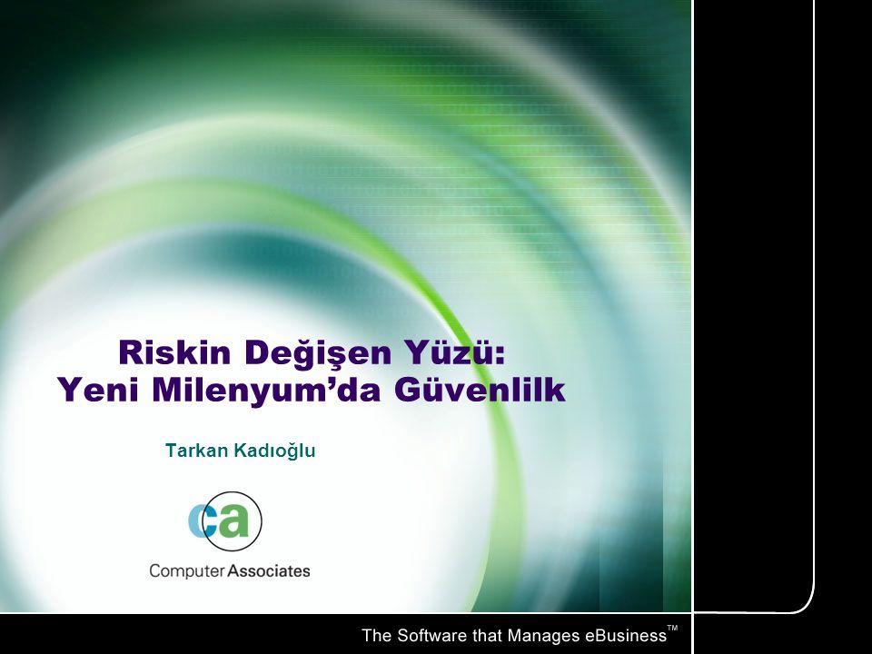 Riskin Değişen Yüzü: Yeni Milenyum'da Güvenlilk Tarkan Kadıoğlu