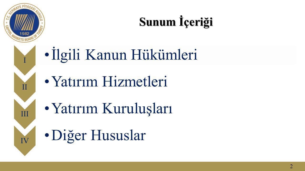 3 Sermaye Piyasası Kurumları SPKn md.
