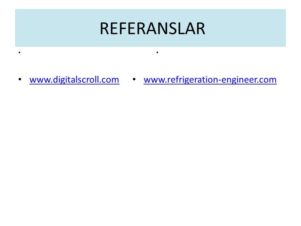 . www.digitalscroll.com. www.refrigeration-engineer.com REFERANSLAR
