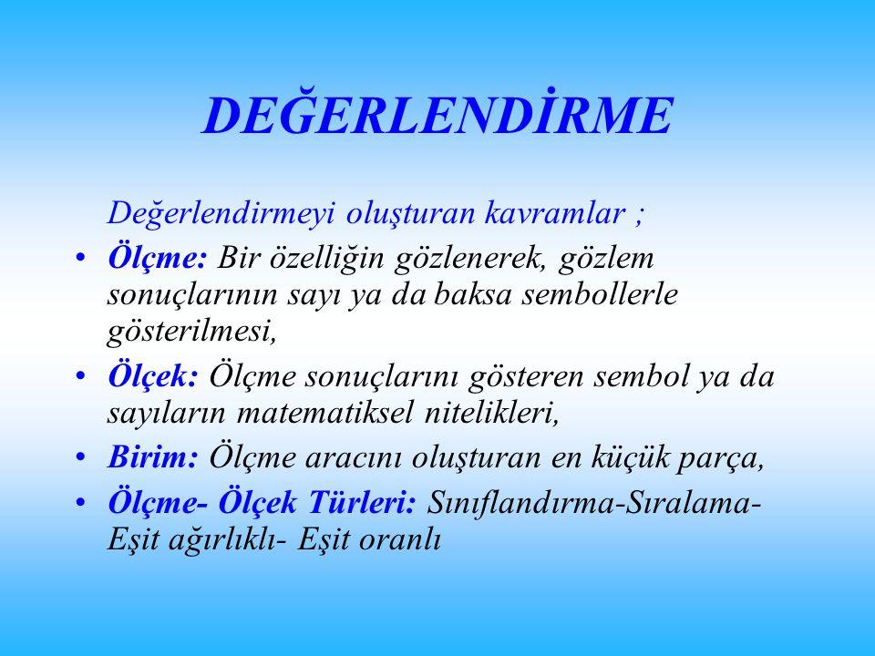 BİR ÖRNEK (Kaynak:Ankara Üniversitesi Öğrenci Bilgi İşleri Sistemi) Bir öğrencinin ara sınavındaki 40 sorudan 32 tanesini doğru yaparak 32, yarıyıl sonu sınavındaki 40 sorudan da 35 tanesini doğru yaparak 35 puan aldığını düşünelim.