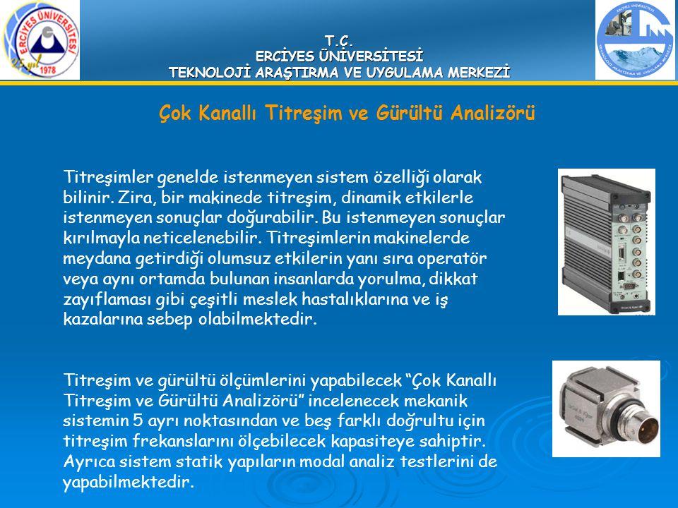 Çok Kanallı Titreşim ve Gürültü Analizörü Titreşimler genelde istenmeyen sistem özelliği olarak bilinir. Zira, bir makinede titreşim, dinamik etkilerl