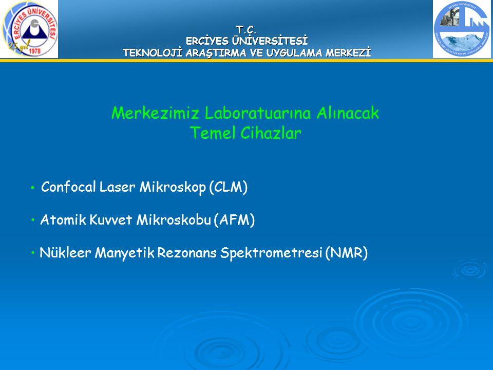 T.C. ERCİYES ÜNİVERSİTESİ TEKNOLOJİ ARAŞTIRMA VE UYGULAMA MERKEZİ Merkezimiz Laboratuarına Alınacak Temel Cihazlar Confocal Laser Mikroskop (CLM) Atom
