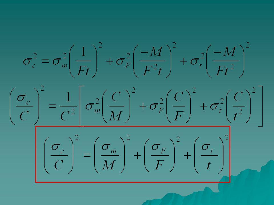 C = 100 ± 11 g/m 3