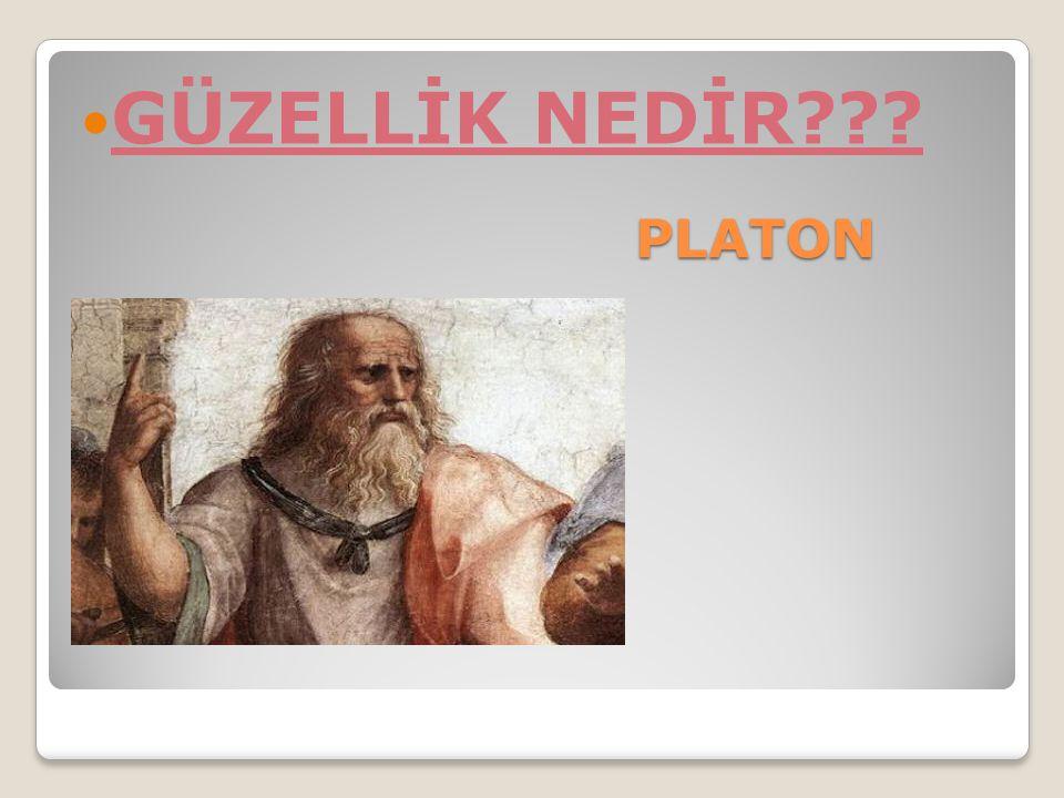 PLATON GÜZELLİK NEDİR???