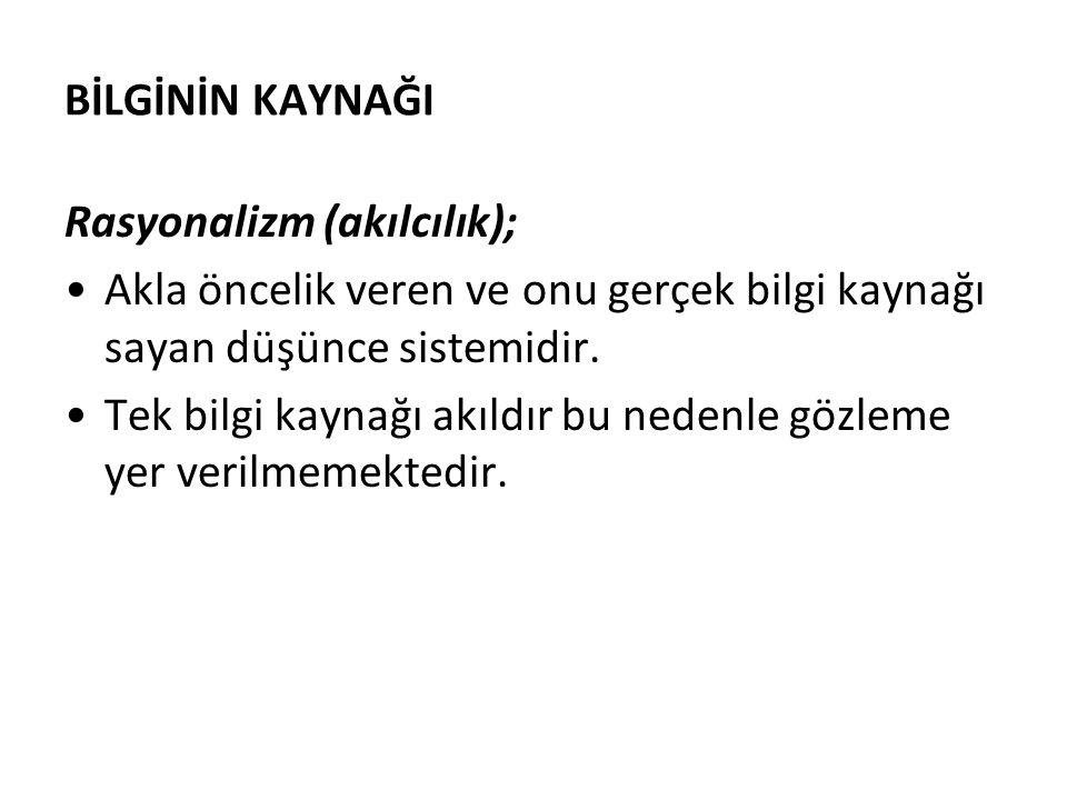 BİLİMSEL ARAŞTIRMA YÖNTEMLERİ DERSİ 4.