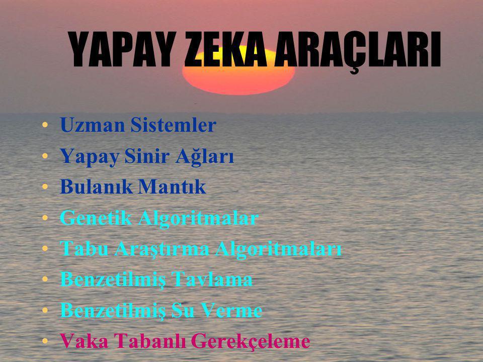 YAPAY ZEKA-5 YZ'nın geleneksel programlamadan birçok farkı vardır; Öğrenebilirler Tecrübe kazanabilirler Bu tecrübeyi kullanarak yeni problemleri çöze
