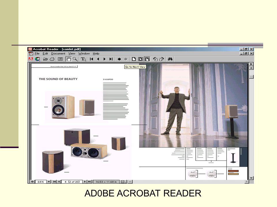AD0BE ACROBAT READER