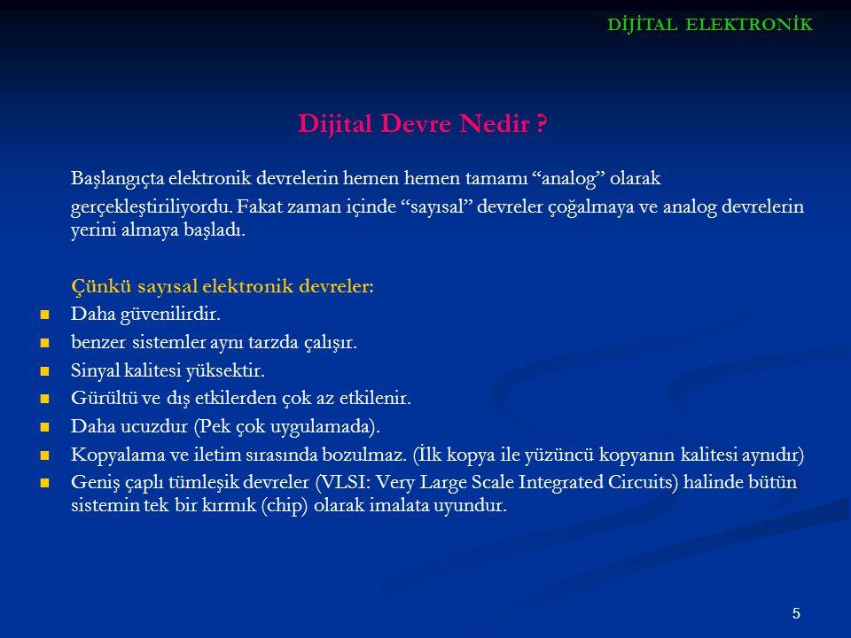 6 Dijital Devre Nedir .