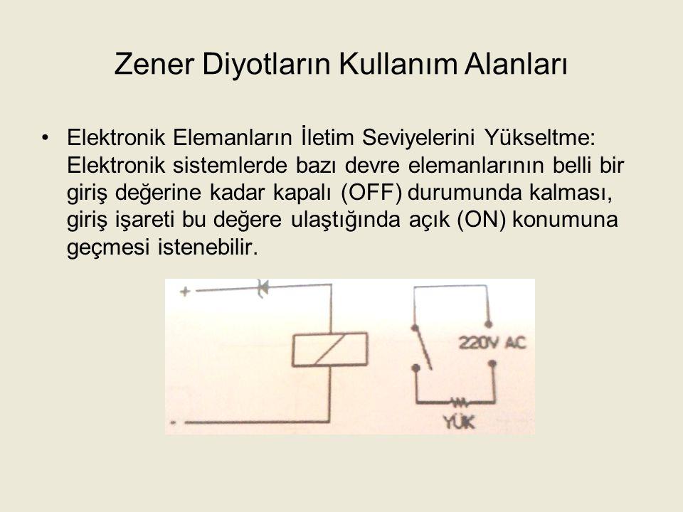Yüksek Voltajlı Doğrultucu Diyotlar Yüksek voltaj diyotları ters yönlü sızıntı akımı olmaksızın gerekli voltajı bloke eden tek jonksiyonlu elemanlardır.