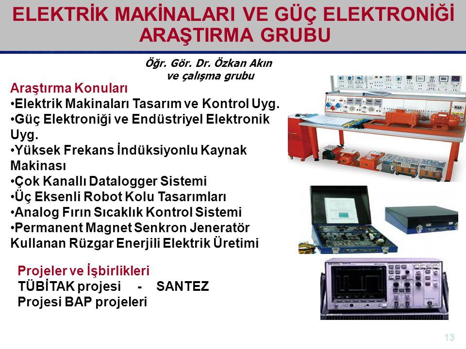 http://electronics.ege.edu.tr Elektrik-Elektronik Mühendisliği Bölümü Öğr. Gör. Dr. Özkan Akın ve çalışma grubu ELEKTRİK MAKİNALARI VE GÜÇ ELEKTRONİĞİ