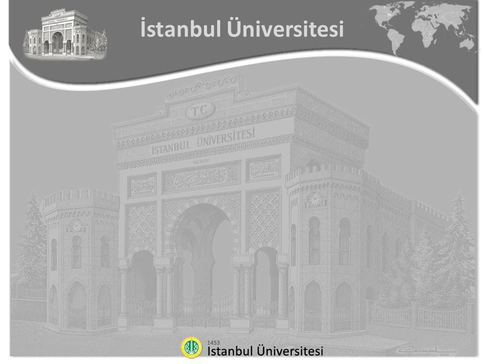 6) İstanbul Üniversitesi Rektörlüğü ibareli antetli kağıtlar sadece İstanbul Üniversitesi Rektörü tarafından kullanılır.