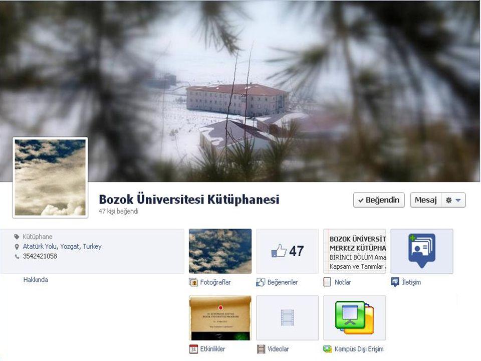 Kampüs Dışı Erişim Proxy ayarları Kullanıcı adı ve şifre temini ▫Kütüphaneci: Sevgi Karakoç ▫Dahili : 7455 ▫Kampüs dışı: +90 (354) 242 10 68 ▫E-posta : kutuphane@bozok.edu.tr