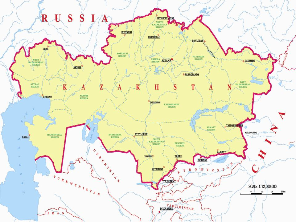 Stratejik önemi  Kazakistan'ın stratejik konumundan dolayı Sovyetler Birliği döneminde Kazak toprakları balistik ve nükleer başlık taşıyan kıtalar arası füze rampalarının konuşlandırıldığı bir bölge haline getirilmiştir.