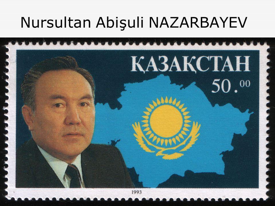  NAZARBAYEV: Kazakistan Moskova'dan değil, Almatı'dan yönetilmelidir.  Devletler, milli kaynakları (doğal kaynaklarının fiyatlandırılması konusu gibi…) konusunda söz sahibi olmalıdırlar.  Nazarbayev, Eylül 1989'da resmî dili Rusçadan, KAZAKÇAYA dönüştürdü.