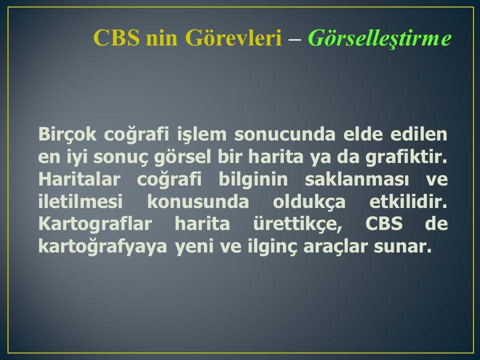 İlişkili Teknolojiler ve Disiplinler CBS, teknolojilerin ve disiplinlerin birleşimidir.