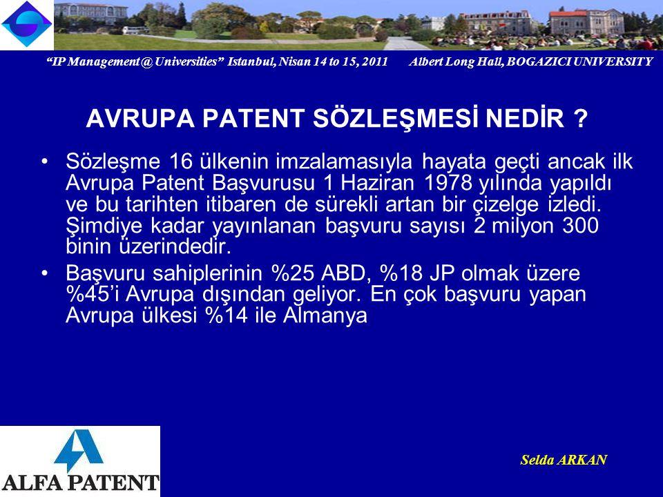Ayrıca bu başvuruların araştırılması ve incelenmesi o kadar iyi ki, başvuru sahibi hukuki açıdan çok sağlam patente kavuşuyor.